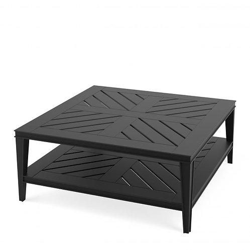 Coffee Table Bell Rive Square Black