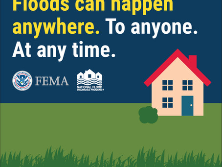 Don't wait for a flood to happen. Did you know?