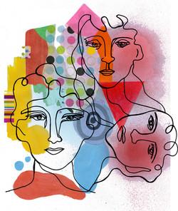 gesture faces