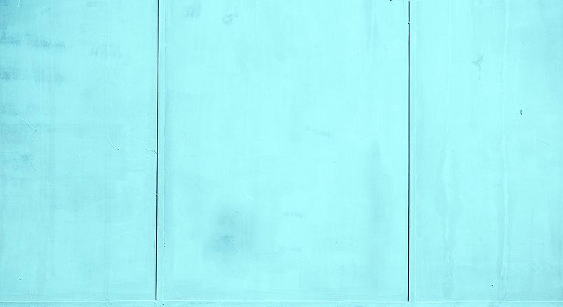 Turquoise Paneled Wall