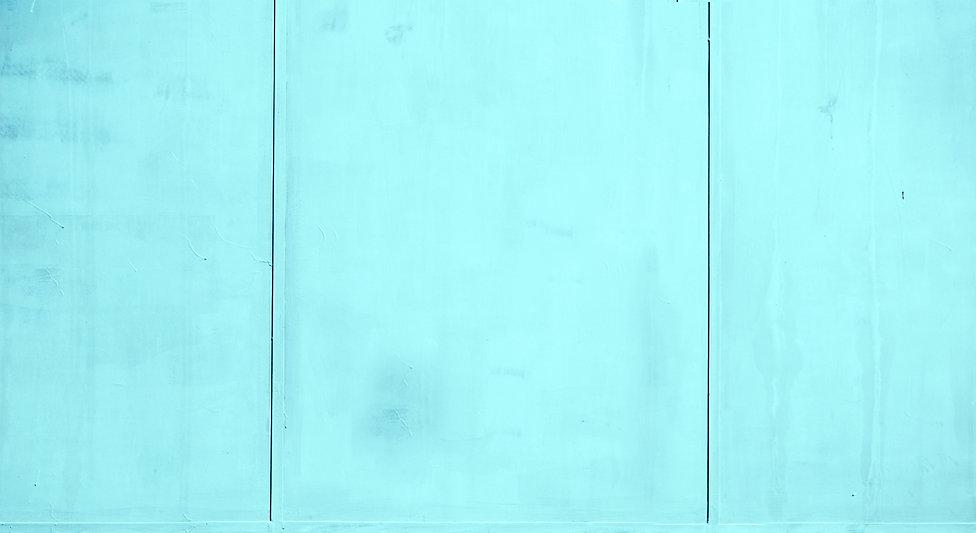 Muro com painéis de turquesa