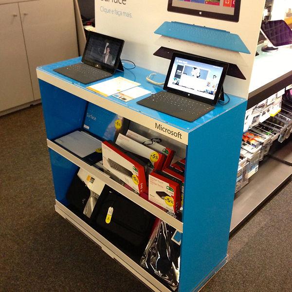 balcão, counter, mobiliário espaço, mobiliário comercial, balcão em acrílico microsoft