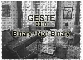 GESTE 2018, Paris, Binary/Non-Binary