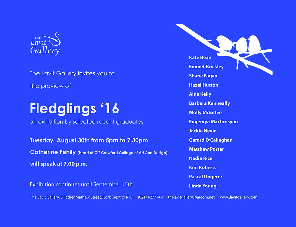 Fledglings'16 at the Lavit Gallery