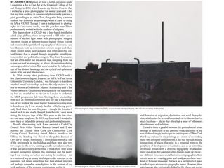 Article about my work in the Visual Artists Ireland JAN/FEB Issue