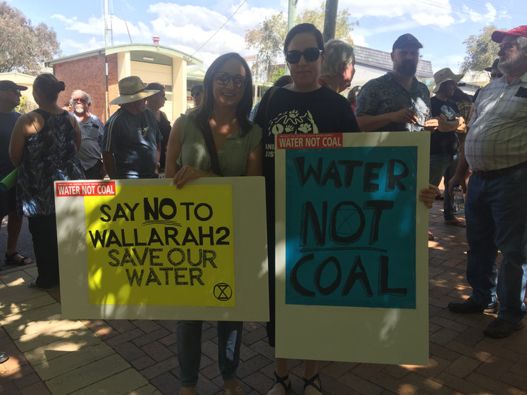 Protest against the Wallarah 2 Coal Mine on the Central Coast