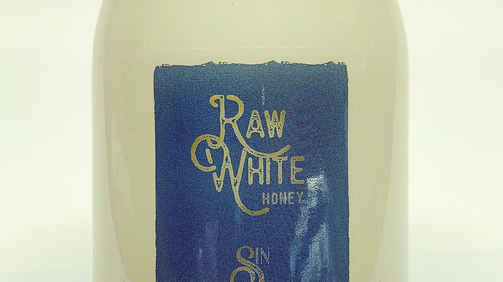 Raw White Honey (16 oz)