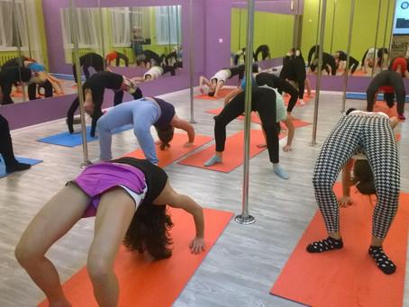Расписание тренировок в Студии танцев на Белградской