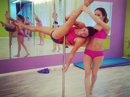 Расписание тренировок в школе танцев Pole dance
