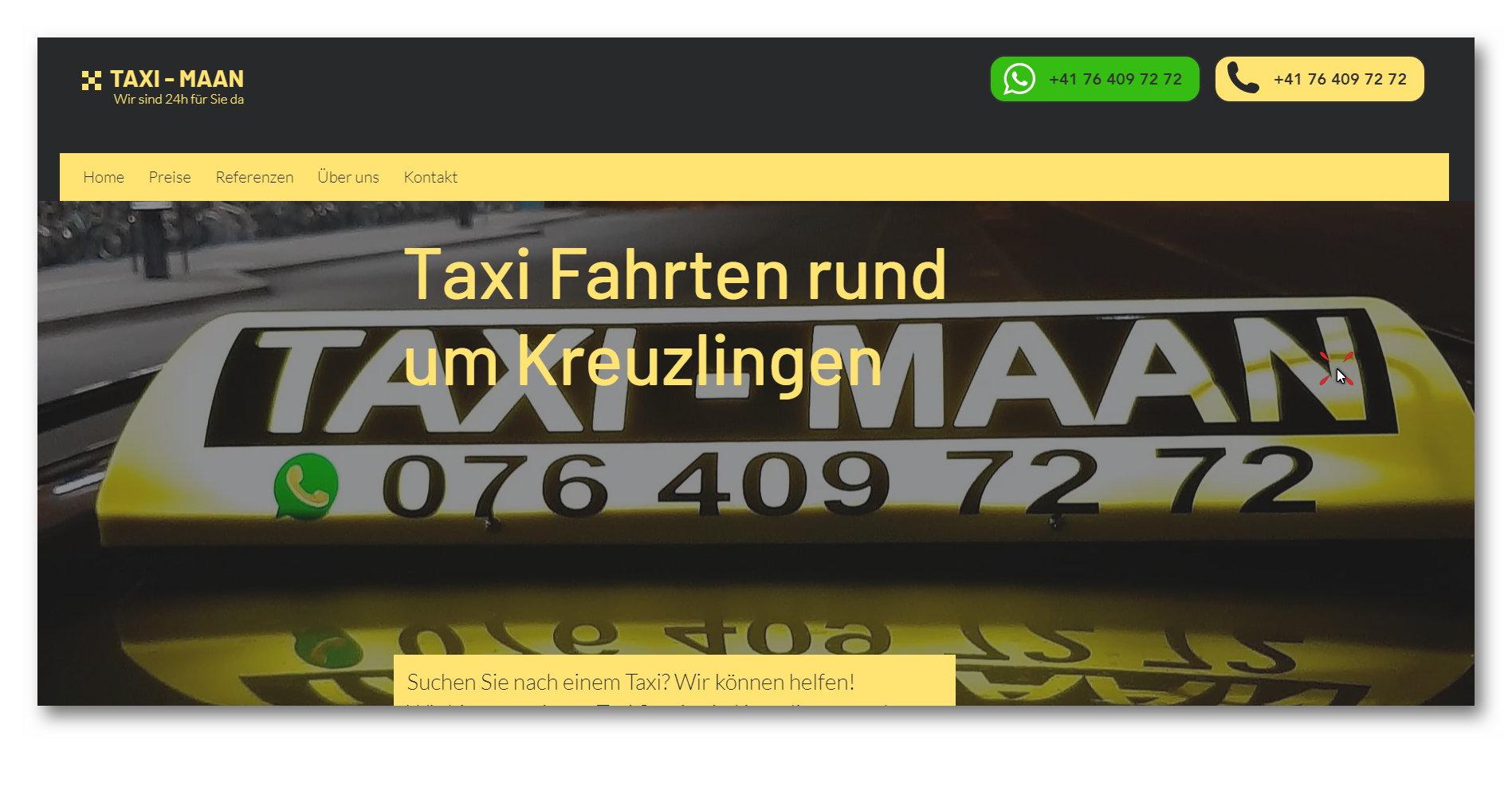Taxi Unternehmen
