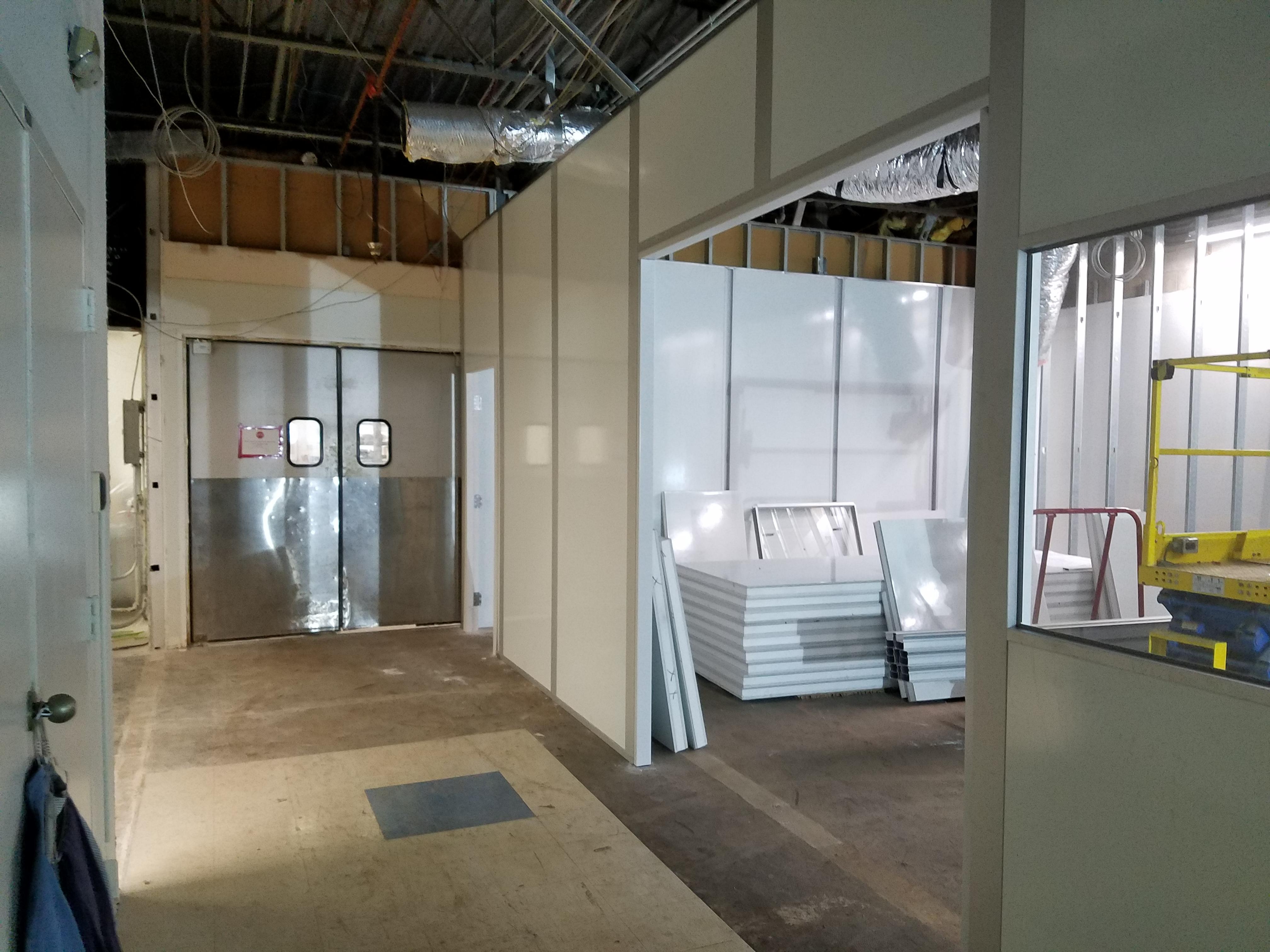 Cleanroom Modular Wall Panels