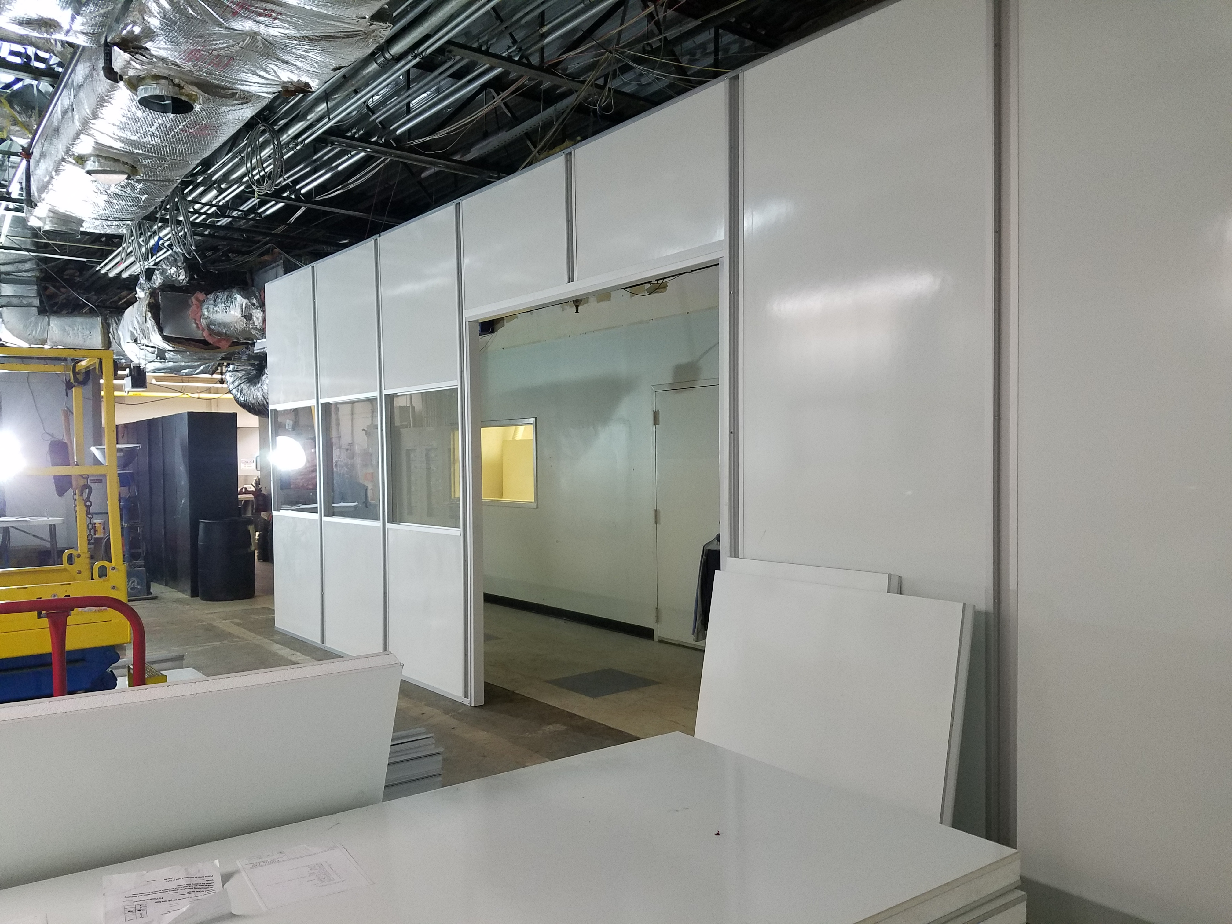 Cleanroom Modular Walls