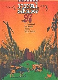 Rural Show 97 leaflet