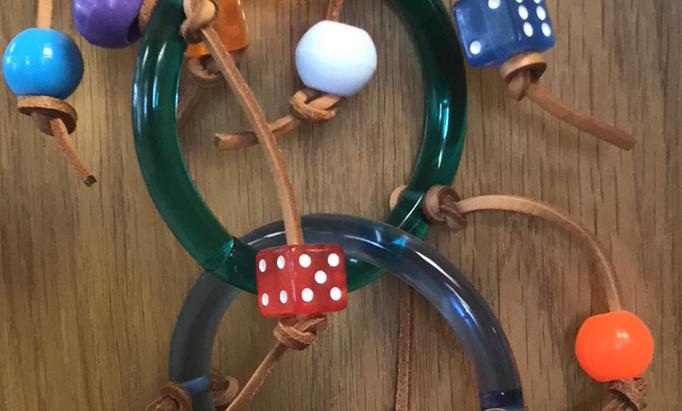 Acrylic Four Ring Circus