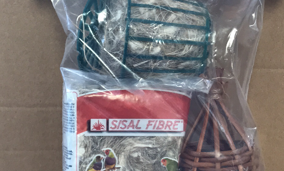 Finch Nest Kit