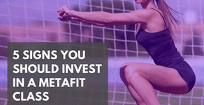 5 signs you should invest in a Metafit class