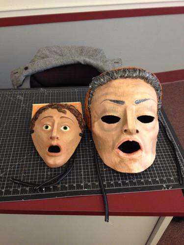 Greek and Roman masks