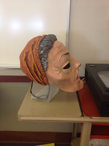Old Woman side view