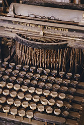 Smith Premier Typewriter