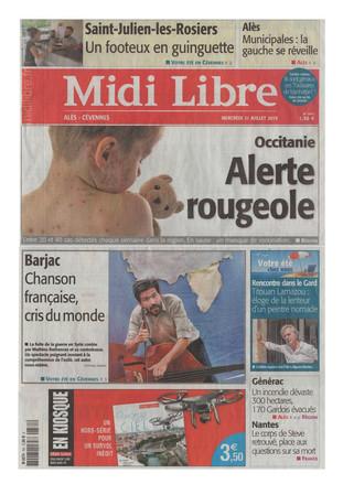 Midi Libre, le mercredi 31 juillet 2019