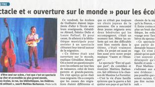 Le Dauphiné Libéré, le 17 février 2020