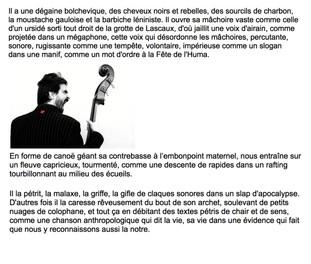 Texte de Claude Astier, 21 janvier 2016