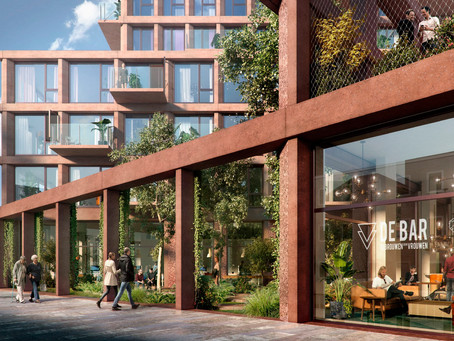 Startsein bouw woonicoon HIGHnote in centrum Almere