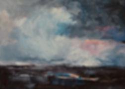 Detlev Foth, Maler, Ölmalerei, Landschaften, Öl auf Leinwand, Winterlandschaft