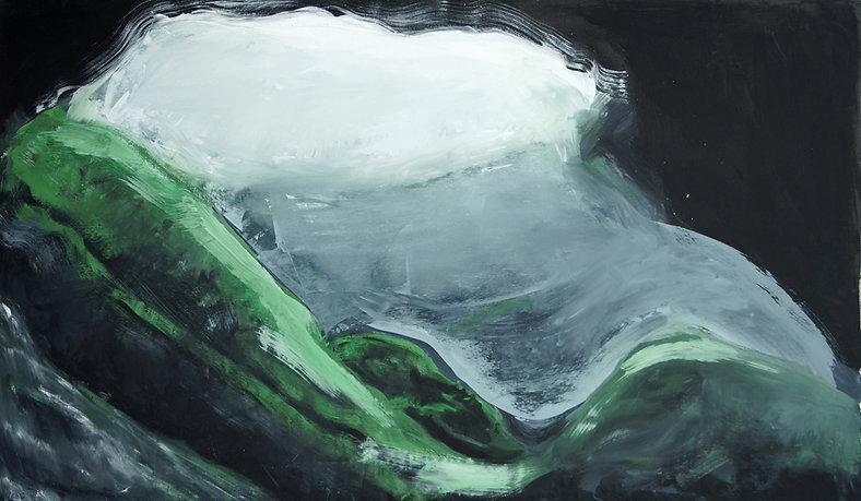 Höhle, Ölbild, Ioana Luca