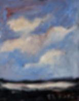 Detlev Foth, Horizonte, Holzurburg, Moor, Landschaften, Öl, Leinwand, Kleinformatige Bilder, Ölmalerei, Künstler in Düsseldorf