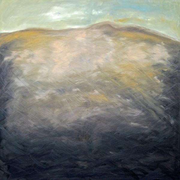 Landschaft Großformatiges Ölbild Ioana Luca