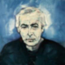 Detlev Foth, Porträtmaler Düsseldorf, Bodo Kirchhoff Porträt, Öl auf Leinwand, Porträtauftrag Düsseldorf, Ölbild, Gemälde