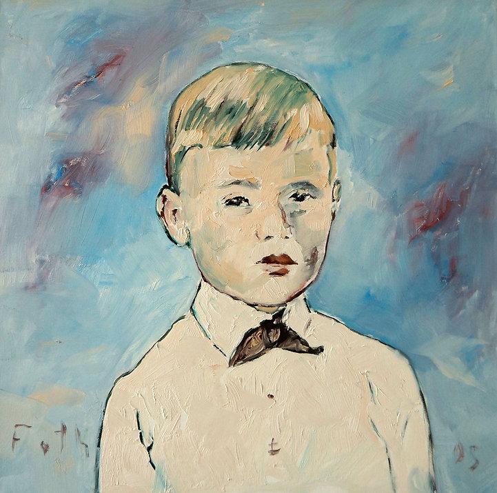 Detlev Foth, Porträtmaler Düsseldorf, Kinderporträts, Gemälde, Porträtauftrag Düsseldorf, Ölbild