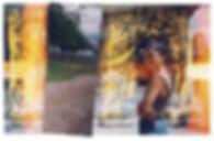 Fahrradtour in Rumänien, Moldova, Landschaften, Karpaten, Wald, Fotocollage, rumänische Kunst, Ioana Luca