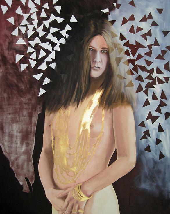 Janis Joplin, Akt, Ioana Luca, großformat