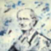 Detlev Foth, Porträtmaler in Düsseldorf, Zwei Männer, Ölbild, Gemälde, Porträtmalerei