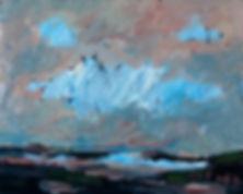 Horizonte, Gemälde, Detlev Foth, Landschaften, Ölmalerei, Künstler in Düsseldorf