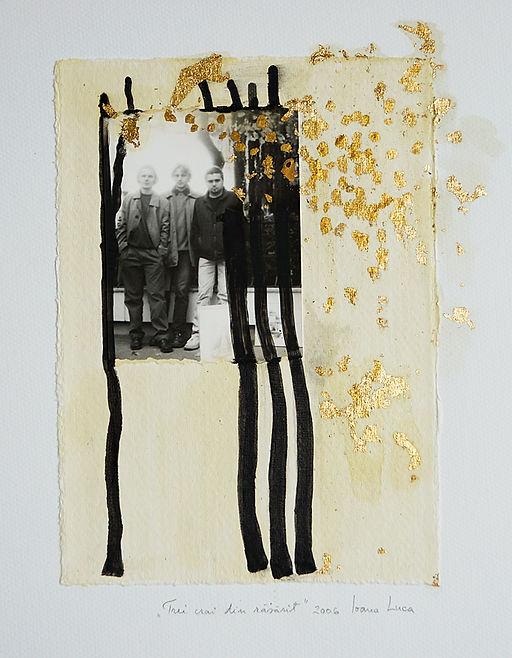 Matius Ichim, Jugend in Rumänien, Fotocollage, rumänische Kunst, Ioana Luca