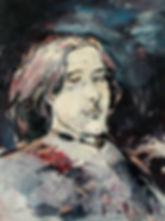 Detlev Foth, Porträtmaler Düsseldorf, Schriftstellerporträts, Oscar Wilde Portrait, Painting, Porträtauftrag Düsseldorf, Ölbild, Gemälde