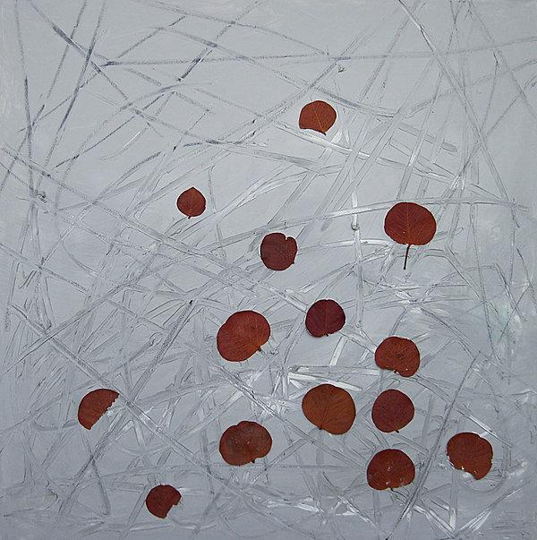 Abstraktes Ölbild Ioana Luca