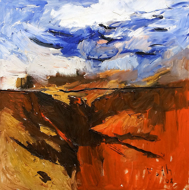 web_Rote-Felsen_2008_Öl auf-Leinwand_105