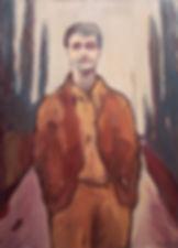 Detlev Foth, Figurenbild, Ölbild, Kunst, Düsseldorf, Gruppe, Geschwätz, Frauen, Jesus, Kreuzigung