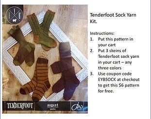 3-Skein Tenderfoot special