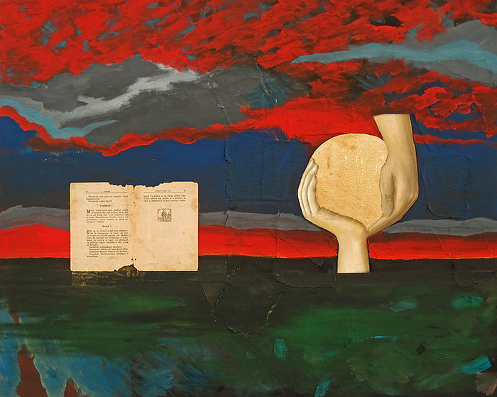 Landschaft, Collage, Ioana Luca