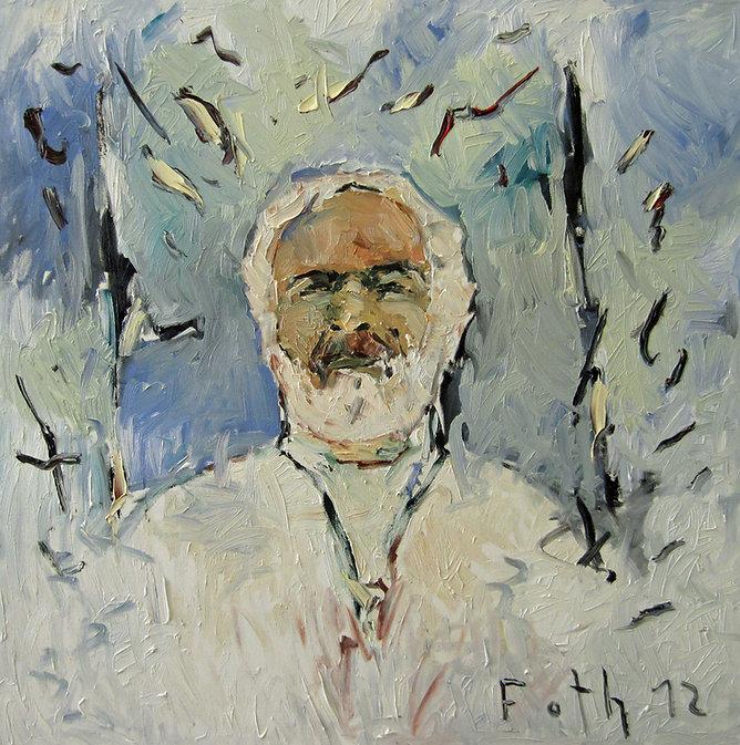 Detlev Foth, Porträtmalerei, Ölbild, Gemälde, Geschwister, Porträtmaler in Düsseldorf