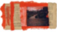 Fahrradtour in Rumänien, Moldova, Landschaften, Karpaten, Kloster Sihastria, Fotocollage, rumänische Kunst, Ioana Luca