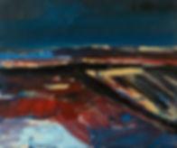 Landschaften, Öl auf Leinwand, Detlev Foth, Landschaftsmaler, Düsseldorf, Künstler in Düsseldorf, Art Düsseldorf, Zeitgenössische Kunst, Ölmalerei, Horizonte, beruhigt