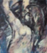 Detlev Foth, Figurenbild, Ölbild, Kunst, Düsseldorf, Das Leiden Christi, Jesus