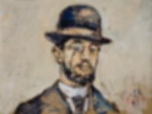 Detlev Foth, Porträtmalerei, Porträtmaler in Düsseldorf, Henri de Toulouse-Lautrec, Portrait, Öl auf Leinwand, german artist, Künstler in Düsseldorf