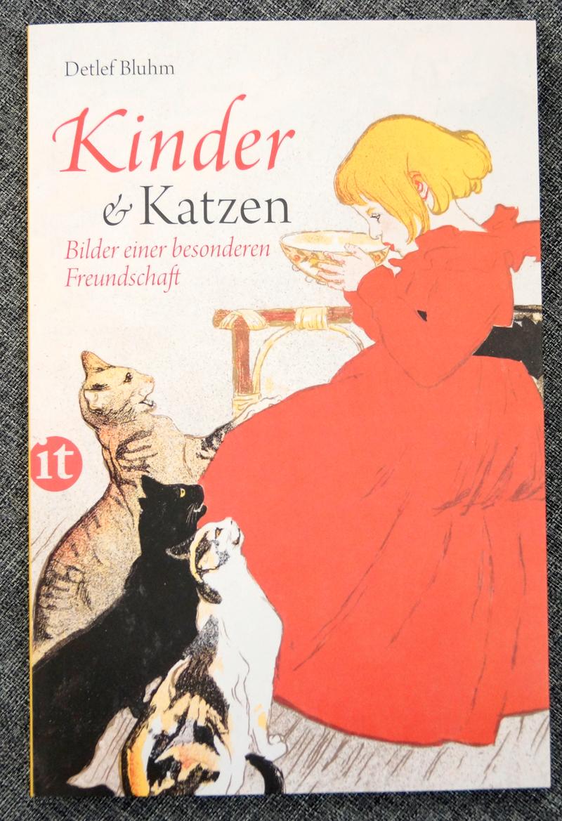 Detlef Bluhm Kinder und Katzen Buch